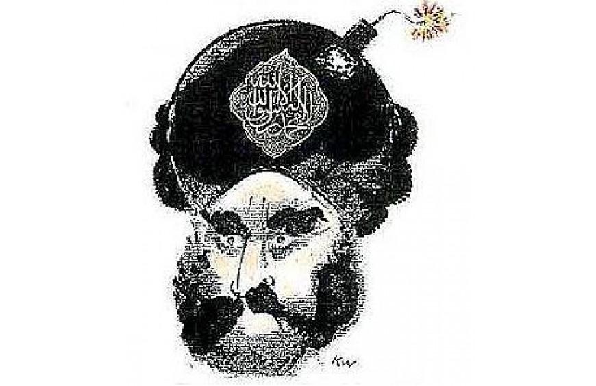Caricatura da intolerância.